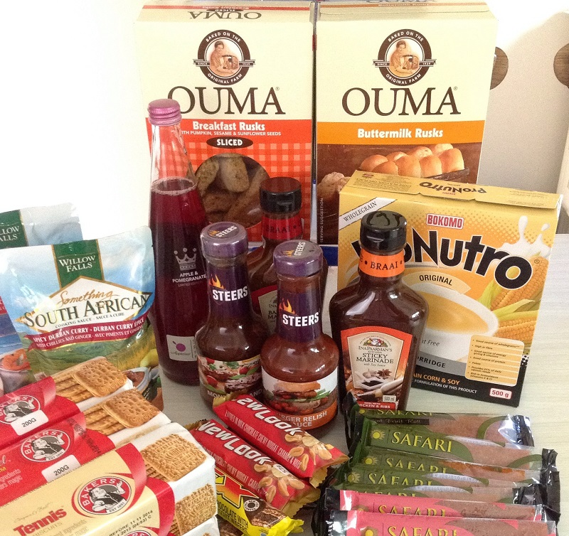 South African products available overseas