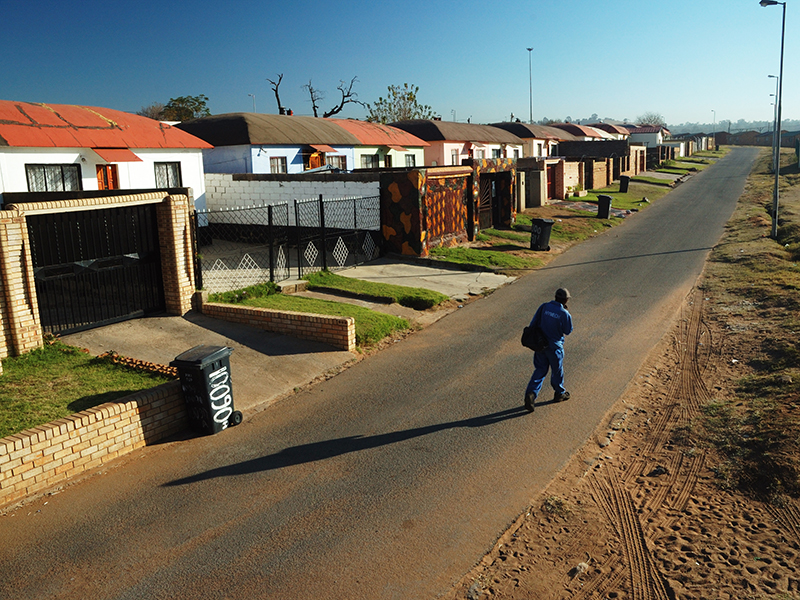 A street in Soweto