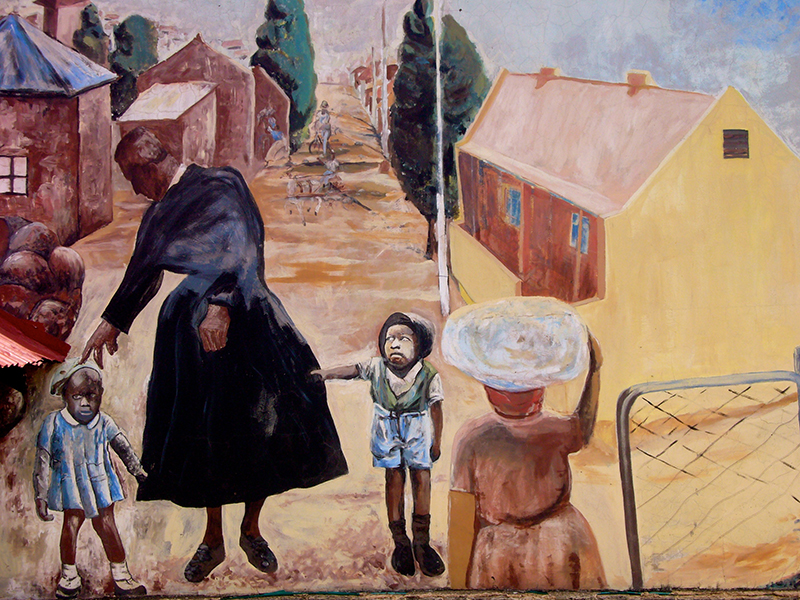 Mural of Sophiatown