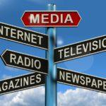 media, television, newspapers, magazines, radio, internet, online, journalism,