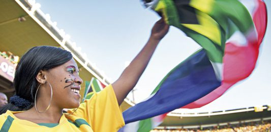 2010 fifa world cup legacy stories south african flag