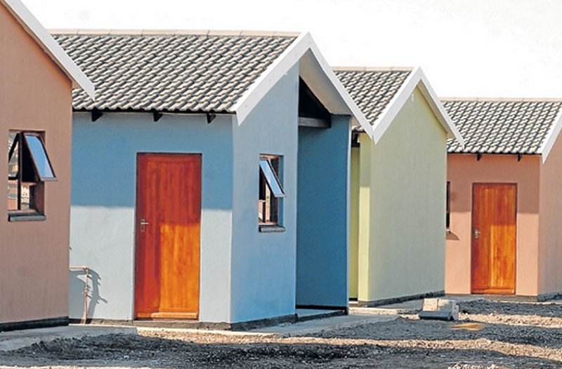 huge soweto housing project