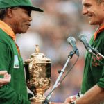 rugby in south africa nelson mandela francois pienaar