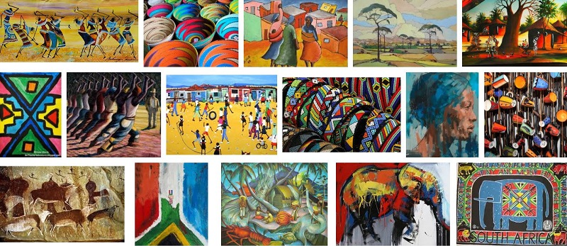 An overview of the history of South African art