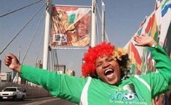 World Cup makeover for Mandela Bridge