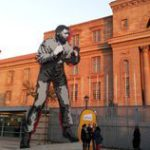 Mandela the boxer in Joburg once more