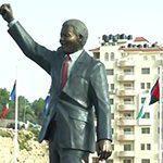 SA artists erect Mandela statue in Palestine
