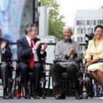 London unveils Mandela statue