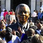 Mandela bust unveiled outside Parliament