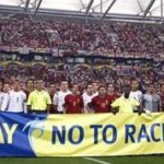 Showing the red card to racism