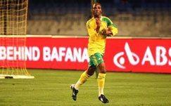 Bafana get down to training