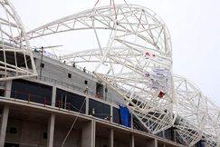 Port Elizabeth stadium almost complete