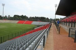Rand Stadium rises from the ashes