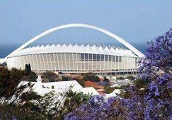 Durban's 2010 stadium set to open