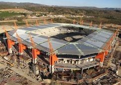 Mbombela: 'Africa's wildest stadium'