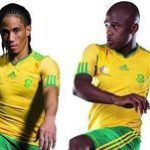 Bafana's World Cup jersey unveiled