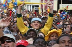 Cape Town shows off its 2010 spirit