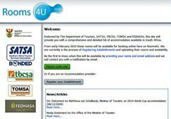 SA's one-stop accommodation portal