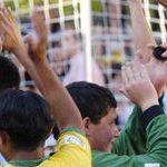 Alexandra gears for Football for Hope