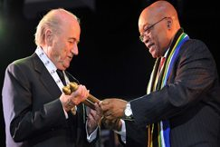 South Africa's top award for Blatter