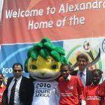 Football brings Hope to Alexandra