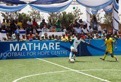Football for Hope in Nairobi