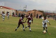 Township kids play the dream