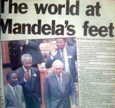 Mandela's wish for South Africa