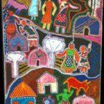 Sudafrikas Kunste und Kunsthandwerk