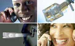 Les telecommunications de l'Afrique du Sud