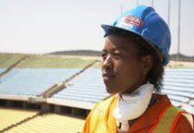 Schwarze Wirtschaftsforderung in Sudafrika