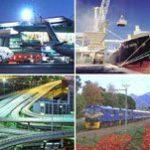 A rede de transportes na África do Sul
