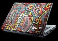 African art inspires Dell laptops