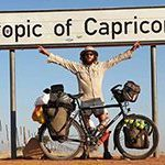 South African cycles across Africa for rhinos