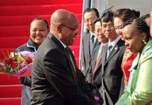 Zuma arrives in China for BRICS summit