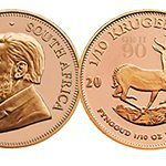 South Africa marks queen's 90th with Krugerrand