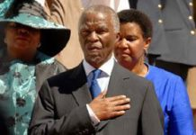 We bow our heads in shame: Mbeki