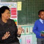 Minister becomes teacher for a day
