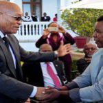 President welcomes special guests to South Africa's Sona