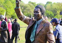 South Africa pays tribute to historic heroes