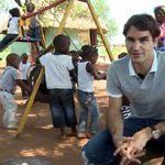 Federer visits projects in South Africa