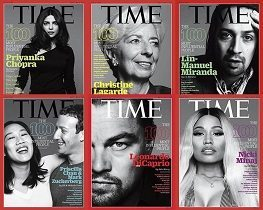 Africans on Time magazine's 2016 100 Most Influential list