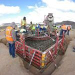 First MeerKAT telescope foundation laid