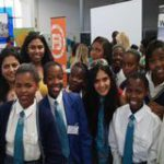 Tech mentors meet South African girls