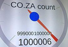 South Africa reaches one million .co.za domains