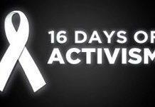 #16Days of Activism in South Africa and the world