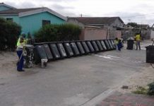 Bin cleaners bring Hollywood to Khayelitsha