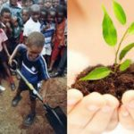 'Plant a tree - save our planet'