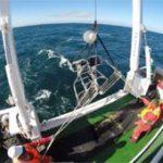 Ocean floor video to track trawlers' footprint