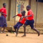 Africa's first foot-powered football field